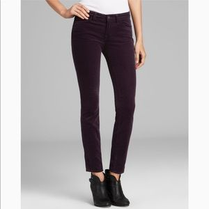 👖J Brand mid-rise skinny cords